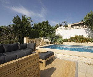 House  in Javea  for 5 people with private pool protected  p2