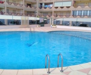 Flat  in Peniscola  for 6 people with communal pool, air conditioning and near sea  p0
