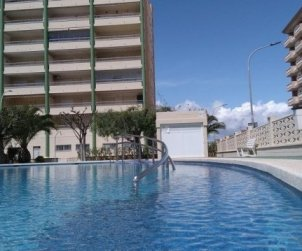 Flat  in Peniscola  for 6 people with communal pool and near sea  p0