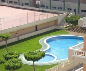Flat  in Peniscola  for 6 people with communal pool and near sea  p1