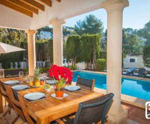 House  in Benissa  for 8 people with private pool and near sea  p2