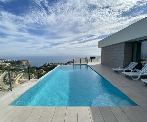 House   Benitachell 8 persons - private pool, sea view and air conditioning p0