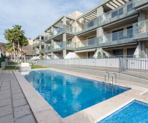Flat  in Oropesa del Mar  for 6 people with communal pool, air conditioning and garage  p0