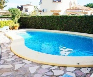 House  in Denia  for 6 people with private pool and near sea  p1