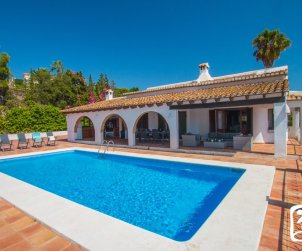 House  in Benissa  for 8 people with private pool, sea view and air conditioning  p1