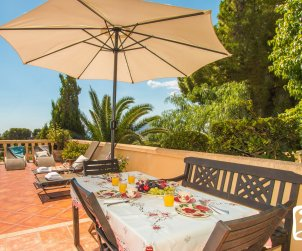 Villa  in Benissa  for 10 people with private pool and sea view  p2
