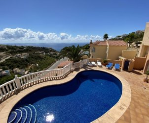House  in Benitachell  for 4 people with private pool and sea view  p0