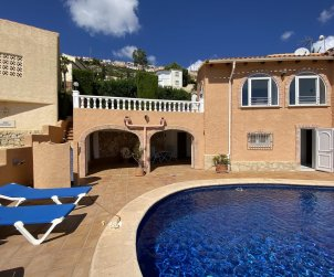 House  in Benitachell  for 4 people with private pool and sea view  p2
