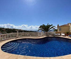 House  in Benitachell  for 4 people with private pool and sea view  p1