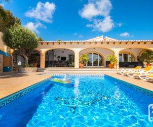 Villa   Benissa 8 personnes - piscine privée p0