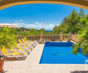 Villa   Benissa 8 personnes - piscine privée p1