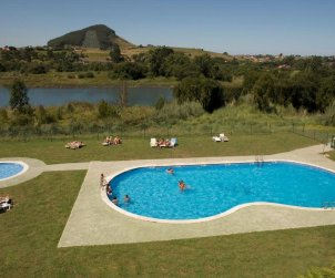 Apartment  in Santander  for 2 people with shared swimming pool  p1