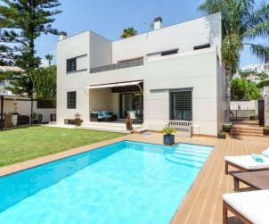 House   Mijas 8 persons - private pool p0
