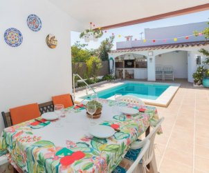 House   Cunit 6 persons - private pool p1