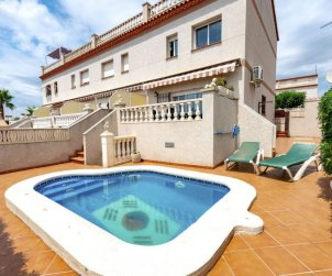 House   Creixell 6 persons - private pool p0