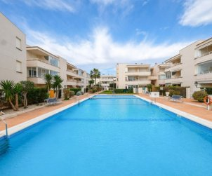 Flat   Vinaros 2 persons - comunal pool p0