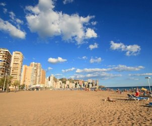 Flat   Benidorm 4 persons - parking in the property p0