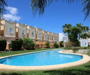 House  in Denia  for 6 people with communal pool  p0