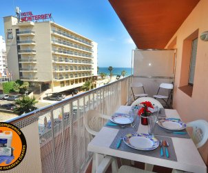 Apartment  in Rosas  for 6 people with sea view  p0
