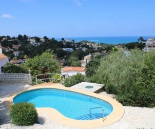 House  in Denia  for 6 people with private pool and beautiful sea view  p2