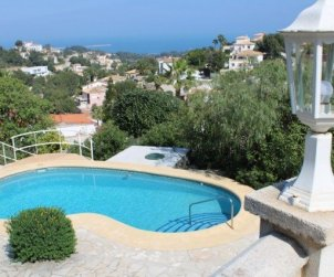 House  in Denia  for 6 people with private pool and beautiful sea view  p0