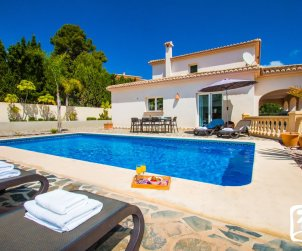 House   Benissa 11 persons - private pool, sea view and near beach p0