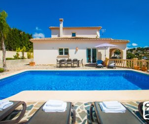 House   Benissa 11 persons - private pool, sea view and near beach p1