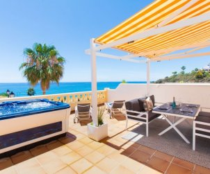 House   Torrox Costa 6 persons - comunal pool p0