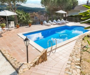House   Blanes 6 persons - private pool p1