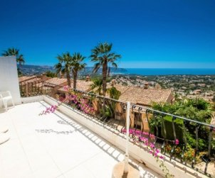 House   Moraira 4 persons - comunal pool p1
