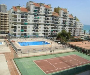 Flat   Peniscola 6 persons - comunal pool and sea view p0