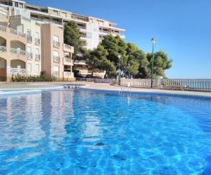 Flat   Peniscola 6 persons - comunal pool and parking p0
