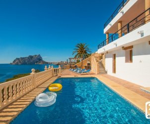 House   Benissa 8 persons - private pool and sea view p0