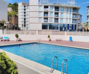 Flat   Peniscola 4 persons - comunal pool, near sea and internet p2