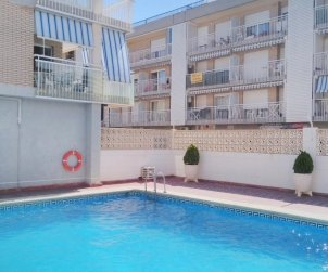 Flat   Peniscola 4 persons - comunal pool, near sea and internet p1