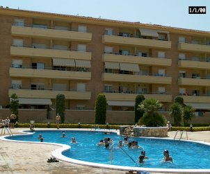 Flat   Blanes 4 persons - comunal pool and near sea p2