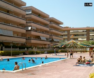Flat   Blanes 4 persons - comunal pool and near sea p1