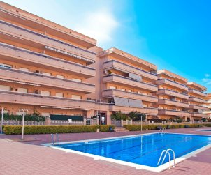 Flat   Blanes 4 persons - comunal pool and near sea p0