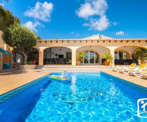 House   Benissa 8 persons - private pool, sea view and air conditioning p0