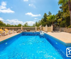 House   Benissa 8 persons - private pool, sea view and air conditioning p2