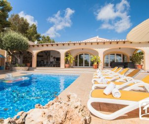 House   Benissa 8 persons - private pool, sea view and air conditioning p1
