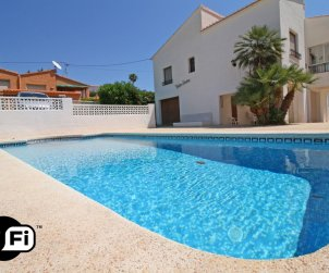 House   Calpe 7 persons - private pool, air conditioning and near sea p0