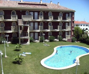 Flat   Alcoceber 8 persons - comunal pool p0