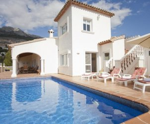 House   Altea 10 persons - private pool and sea view p0