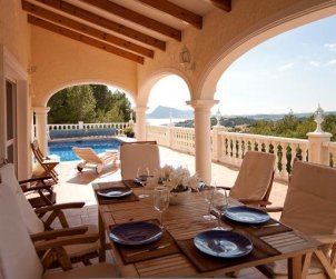 House   Altea 10 persons - private pool and sea view p1