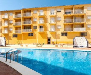 Flat   Alcoceber 8 persons - comunal pool and air conditioning p0