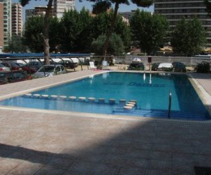 Flat   Benidorm 2 persons - comunal pool p1
