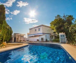 House   Calpe 6 persons - private pool and sea view p1