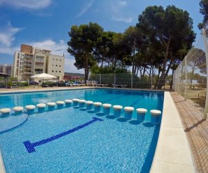 Flat   L'Estartit 3 persons - comunal pool and near sea p1