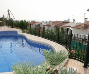 House   Peniscola 8 persons - private pool and beautiful sea view p1